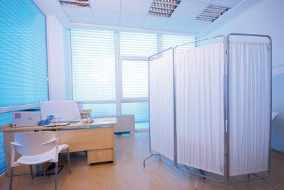 Interieur d'un cabinet médical